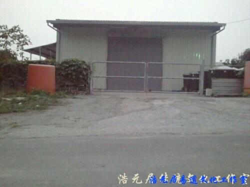 台湾台南风水勘测: 明堂倾泻 散尽财气
