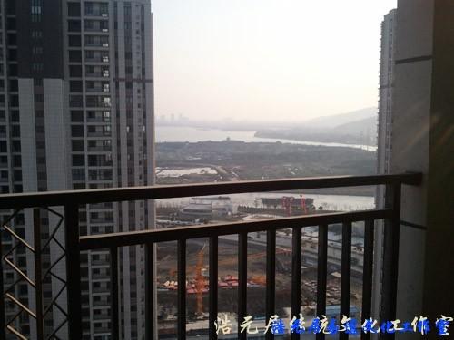 苏州风水师看宅记录-宅前坤方景像