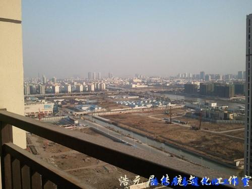 苏州风水师看宅记录-宅前巽方景像