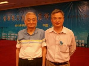 与张志哲教授合影-华东师范大学教授