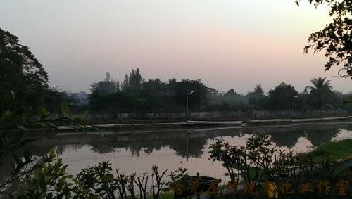 泰国英拉故乡清迈藏风聚气一景