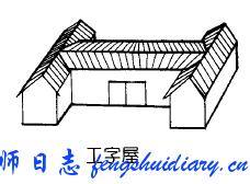 工字形房屋的风水问题