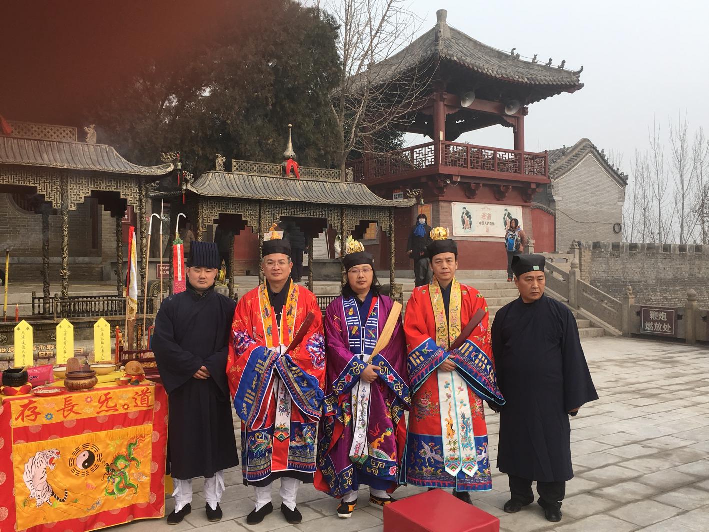 腊月初六武王庙香炉启用与王母殿财神殿开光